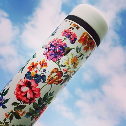 花柄 ボトル 空