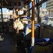 かぼちゃのバスで。