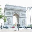 パリの凱旋門でフォト…
