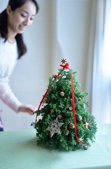 クリスマステーブルツリー教室