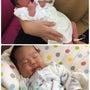 産まれた翌日と昨日の…