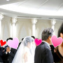 友達の結婚式に行って…