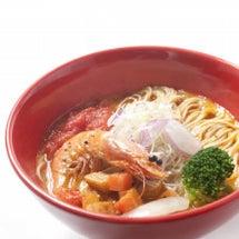 冬の限定創作麺「エビ…