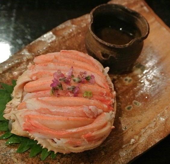 赤坂津やま 香箱蟹の甲羅詰め3