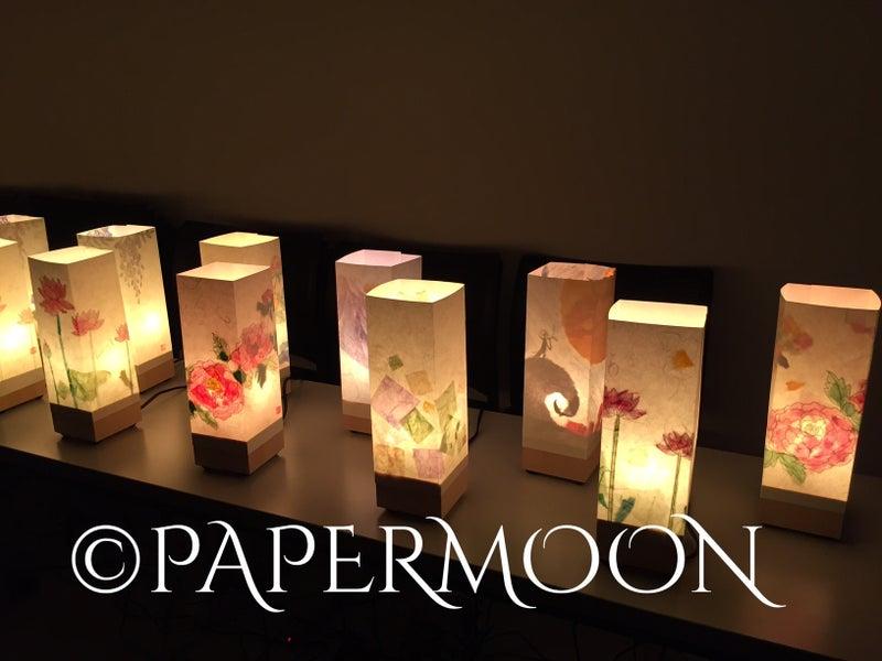 手作りライト教室ペーパームーン、出張教室、武蔵美