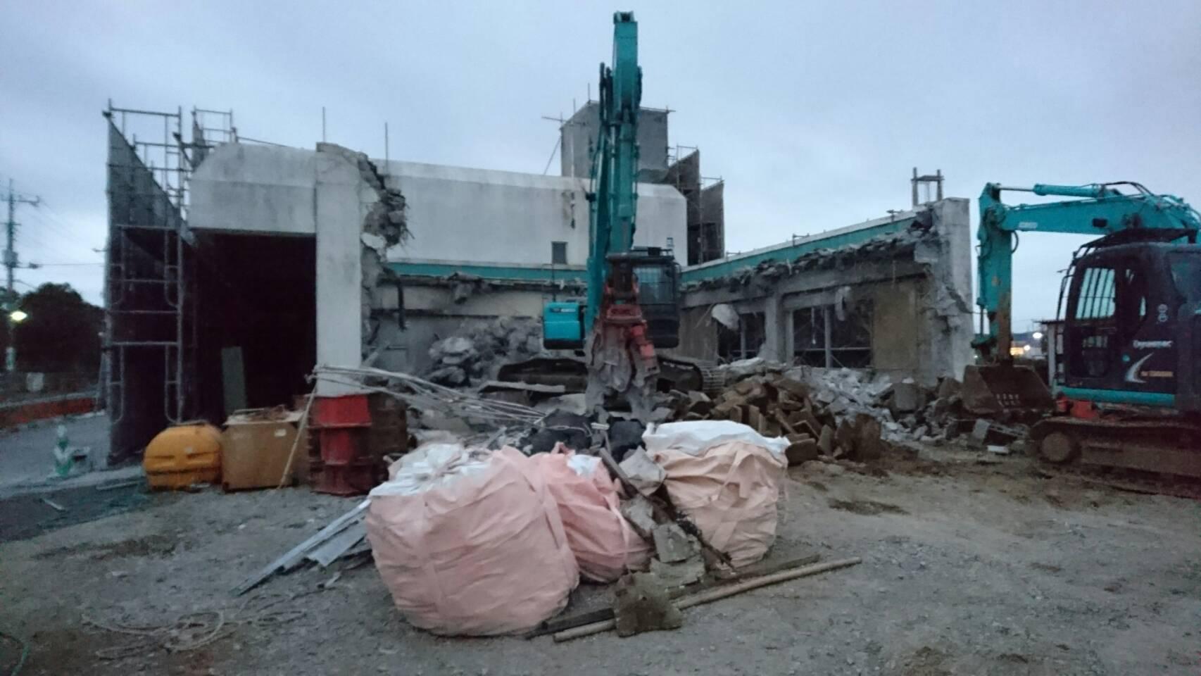 |2016年11月の振り返り| 匝瑳市の解体工事(株)ナイキ