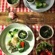 冬野菜のワンプレート…
