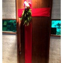 ドアをクリスマスに!