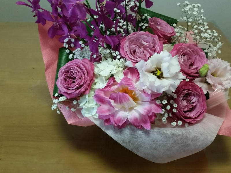 講演会のお花