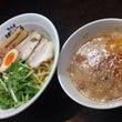 海老汐濃厚つけ麺、卵…