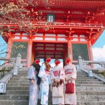 秋の京都お着物にかん…