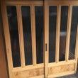 玄関の木製建具のリフ…