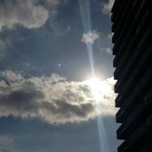 太陽に向かって走る。
