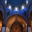 ブルーが素敵な教会