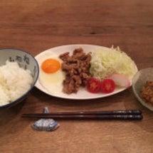 豚肉の鰻のタレ焼き