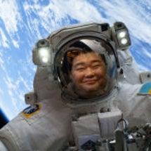 今日は日本人宇宙飛行…