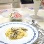 主人作♡牡蠣のペペロ…