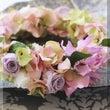 ◆柔らかカラーの花冠…