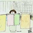 昨日は洗濯日和だった…