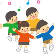 5歳児と歌合戦