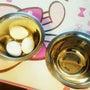 ゆで卵むきに挑戦!!