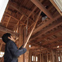 床工事と屋根工事、サ…