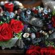 真っ赤な薔薇のプリザ…