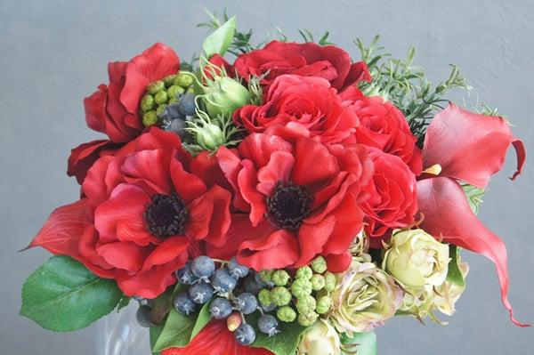 ホームパーティーに飾る花