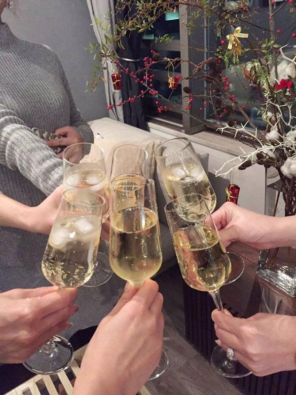 女子会の乾杯