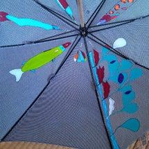 ワカオ晴雨兼用千鳥傘…