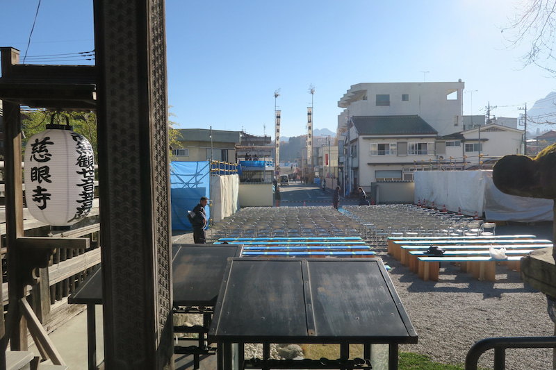 平成28年 秩父祭 早朝団子坂の風景
