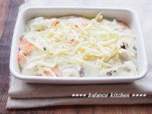 根菜ときのこの米粉グラタン工程4