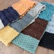 3種の糸で編むスヌー…
