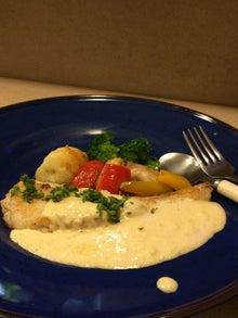 鱈のソテー 華麗なるベシャメルクリームソース添え