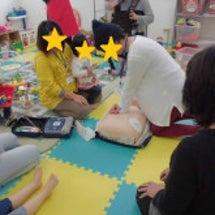 AEDと応急処置を勉…