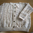 かぎ針編みカーディガ…