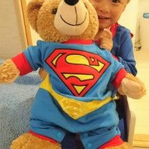 スーパーマンのロンパ…