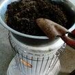 土の殺菌と雑草の種子…