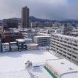札幌市内の道路は凍結…