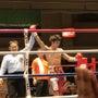 ボクシング観戦!