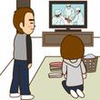 テレビの手術シーン