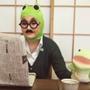 最新動画「カエルの親…