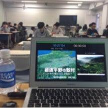 富山大学に再び出講、…