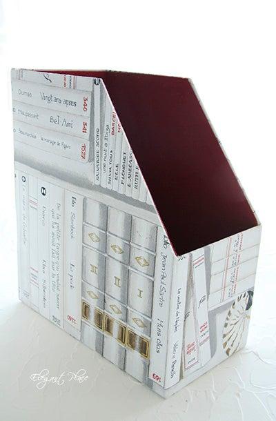 カルトナージュ☆ファイルボックス