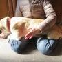中型犬の抱っこ練習