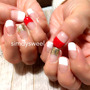 紅白&ミラーフレンチ…