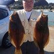 午前ヒラメ釣り釣果報…