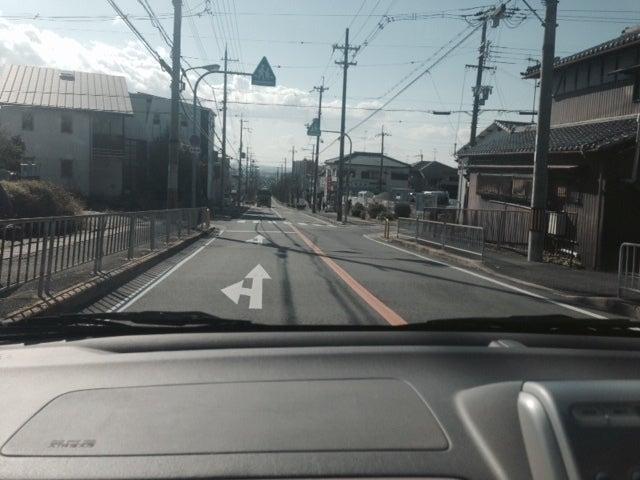 池田市渋谷付近にて北大阪ペーパードライバー