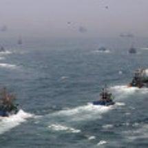 韓国が日本の漁場を荒…