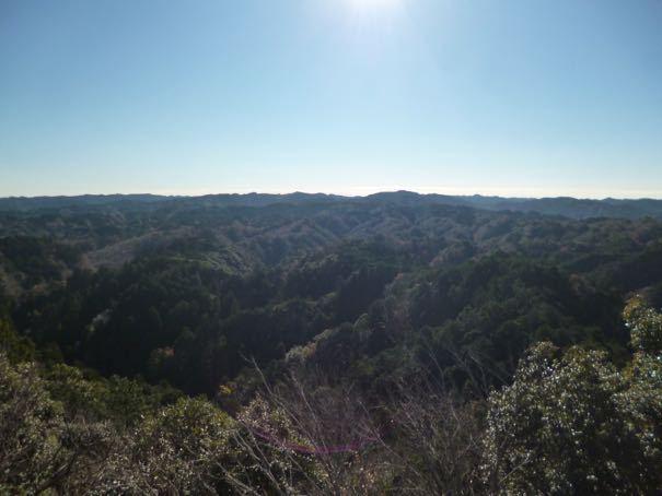 大福山からの眺望